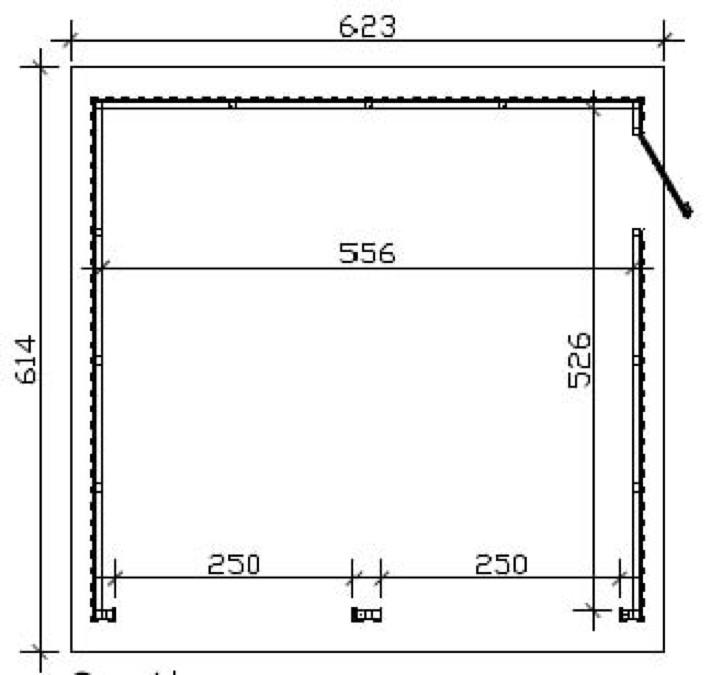 garage skanholz falun doppelgarage holzgarage bausatz. Black Bedroom Furniture Sets. Home Design Ideas
