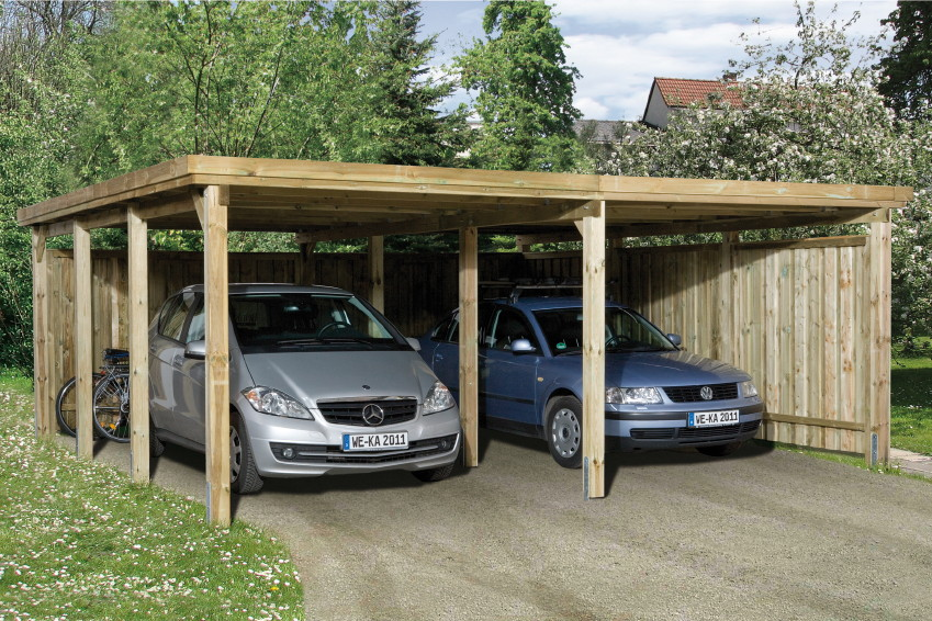 plan pour fabriquer un carport en bois. Black Bedroom Furniture Sets. Home Design Ideas