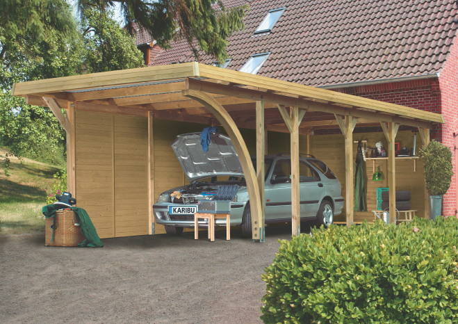 carport holz globus baumarkt. Black Bedroom Furniture Sets. Home Design Ideas