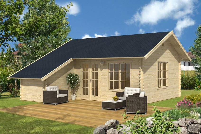 Beautiful Ferienhaus Aus Holz Bauen Ideas - Thehammondreport.com ...