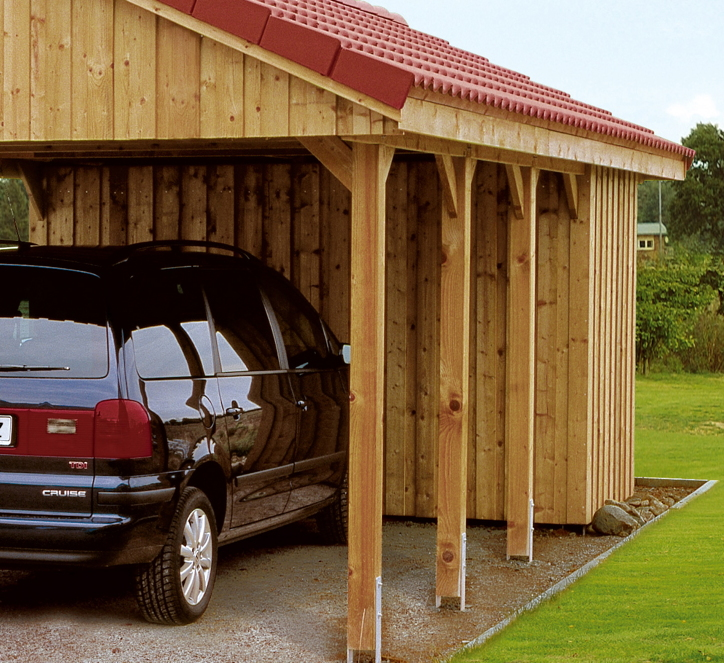carport ger teraum skanholz abstellraum deckelschalung fahrrad garage vom garagen fachh ndler. Black Bedroom Furniture Sets. Home Design Ideas