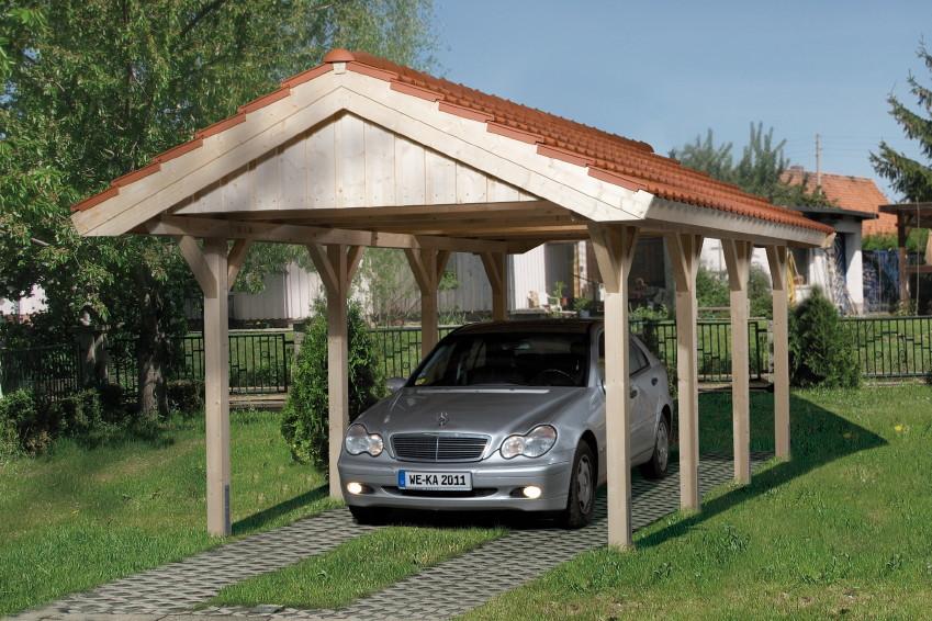 sandy weka satteldach carport. Black Bedroom Furniture Sets. Home Design Ideas