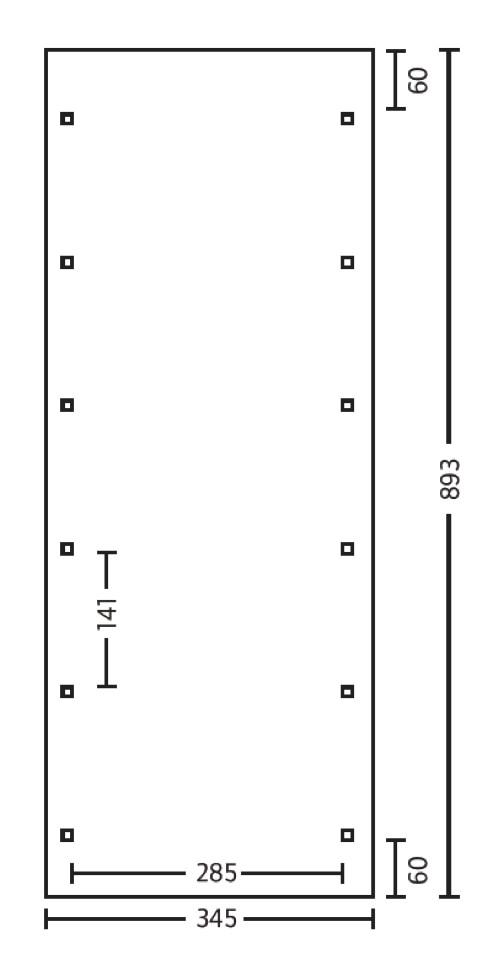 holz carport skanholz flachdach walmdach einzelcarport gr 3 vom garagen fachh ndler. Black Bedroom Furniture Sets. Home Design Ideas