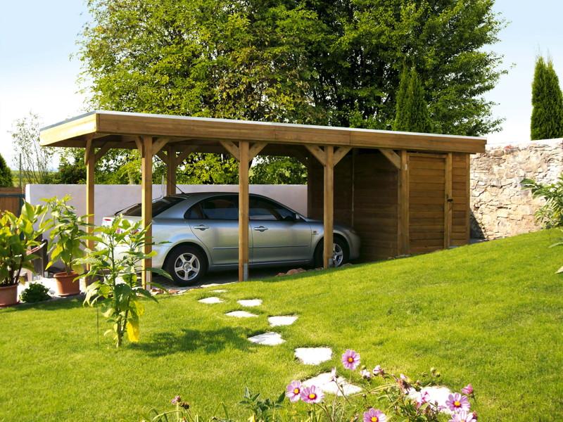 carport ger teraum skanholz abstellraum c2 fahrrad garage vom garagen fachh ndler. Black Bedroom Furniture Sets. Home Design Ideas