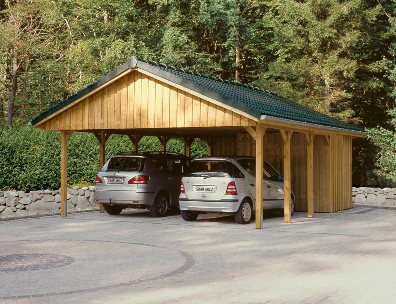 carport ger teraum skanholz abstellraum a2 fahrradgarage vom garagen fachh ndler. Black Bedroom Furniture Sets. Home Design Ideas