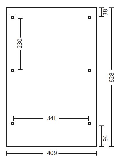 b409xt628cm al dachplatten. Black Bedroom Furniture Sets. Home Design Ideas