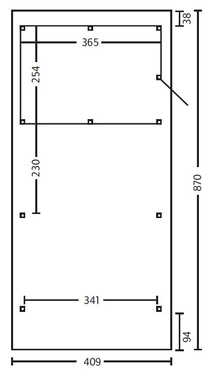 holz carport skanholz wendland walmdach einzelcarport kaufen im holz garten baumarkt. Black Bedroom Furniture Sets. Home Design Ideas